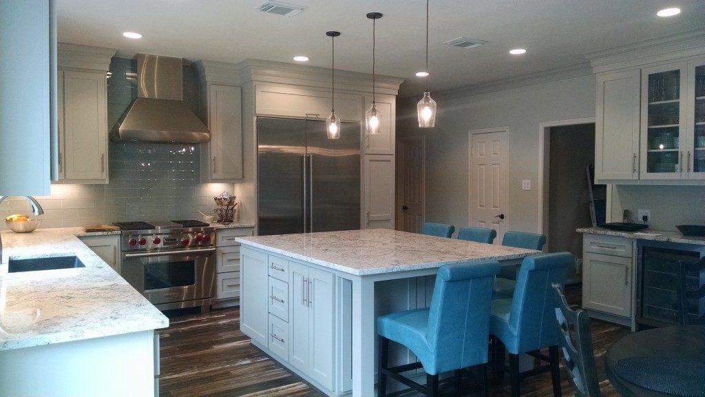 modern farmhouse kitchen northwest Houston