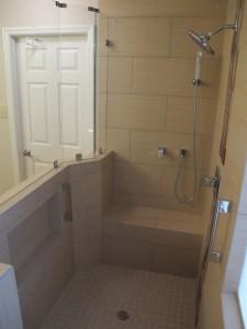 modern bathroom renovation houston