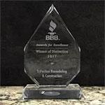 6 pack BBB award