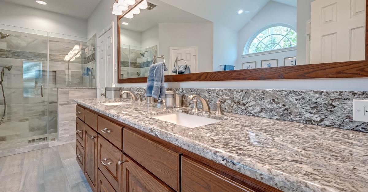 Custom Vanity For Master Bath Master Bathroom Vanity Houston