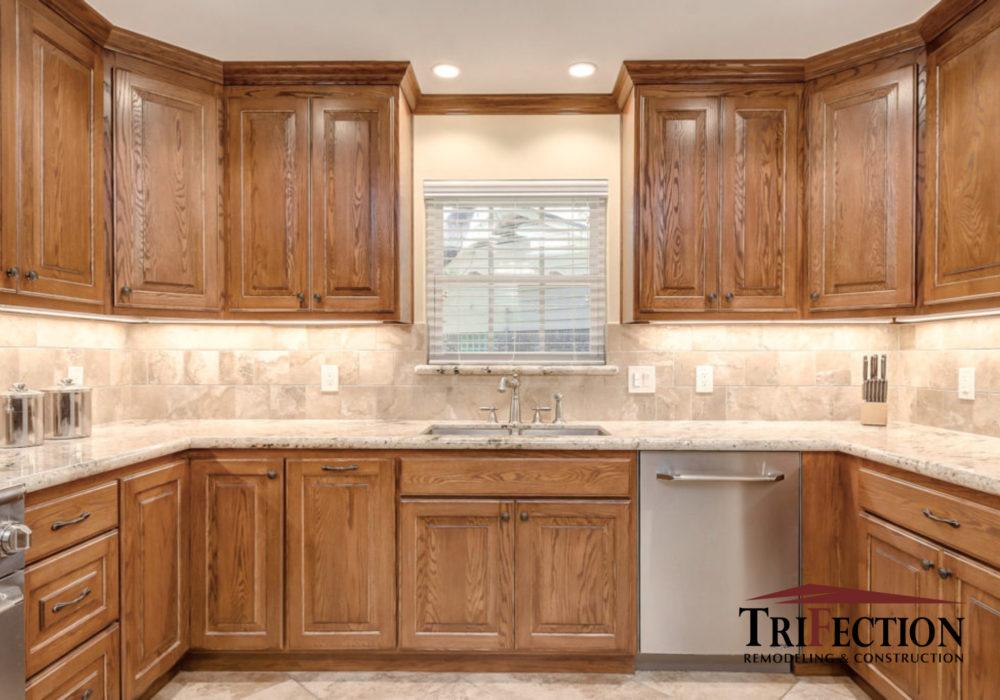 Houston Custom Oak Cabinets