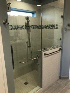 custom shower installation in houston
