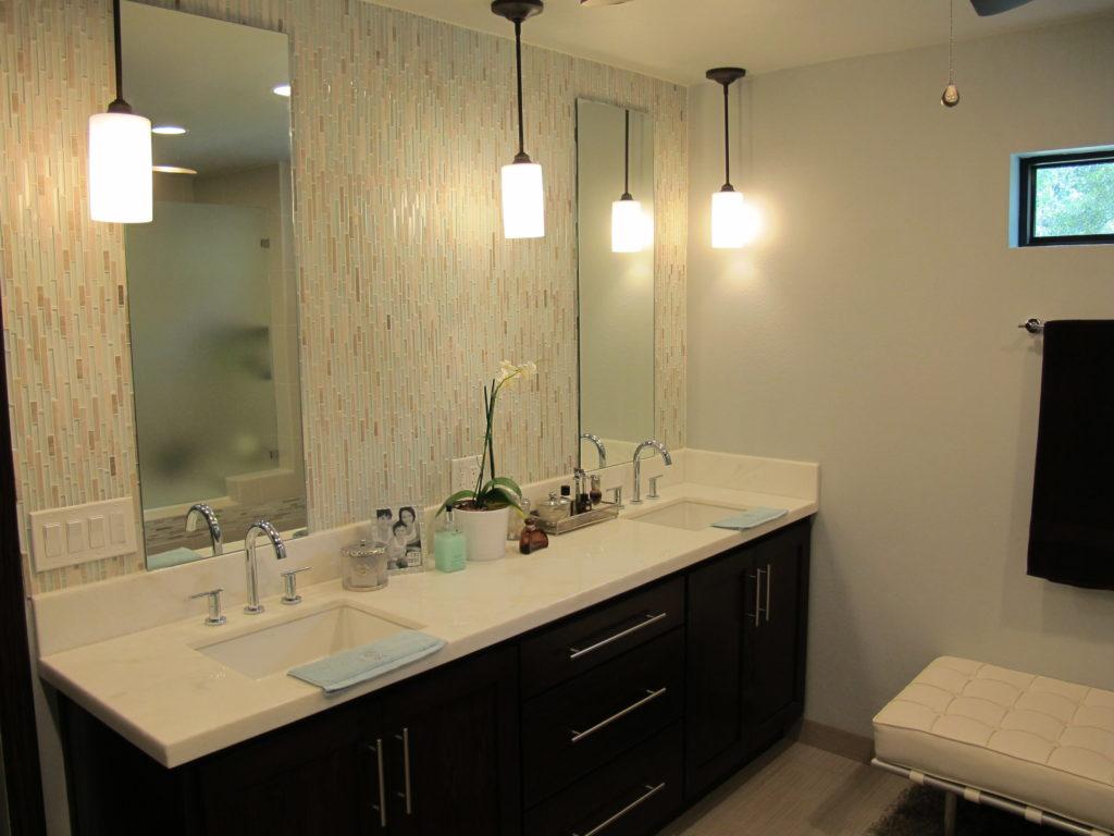 bathroom remodel begins transformation