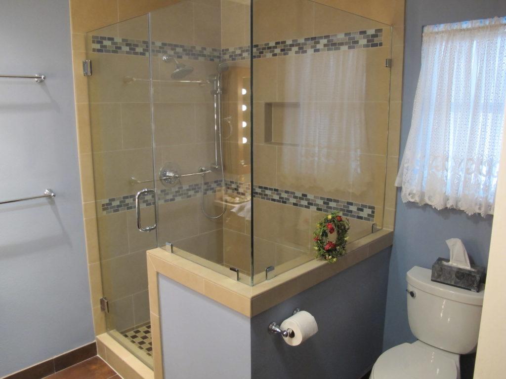 dip trip Wharton bathroom remodel