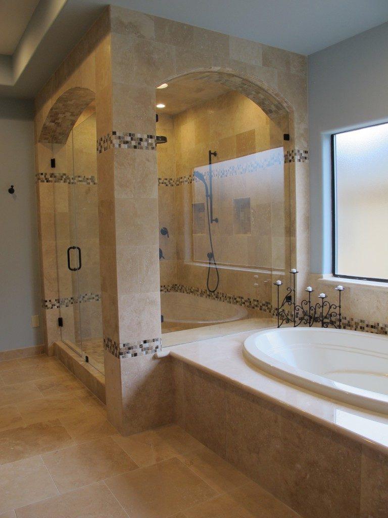 Mediterranean spa custom remodeling