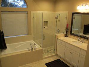 Open Concept Bathroom houston
