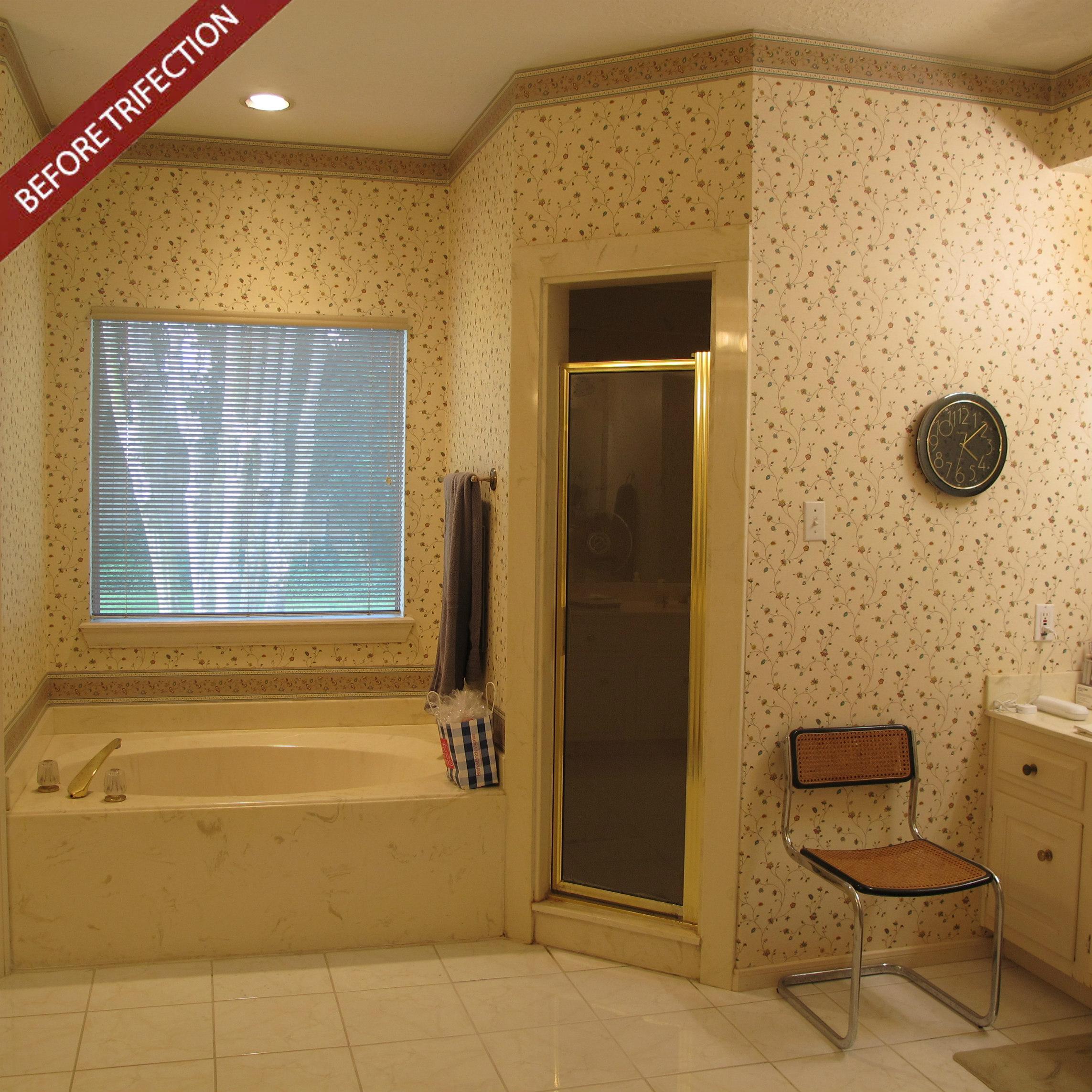 removing shower walls