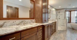 Richmond bathroom remodel by TriFection