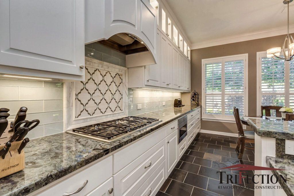 TriFection custom kitchen backsplash Houston