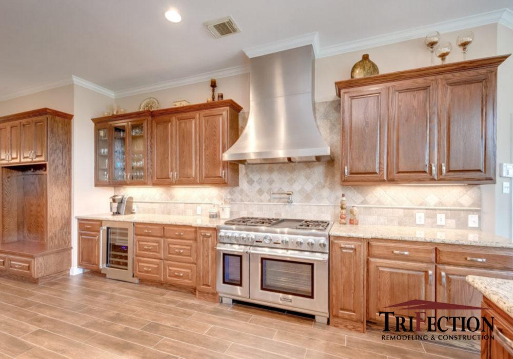 White Oak Custom Cabinets Houston