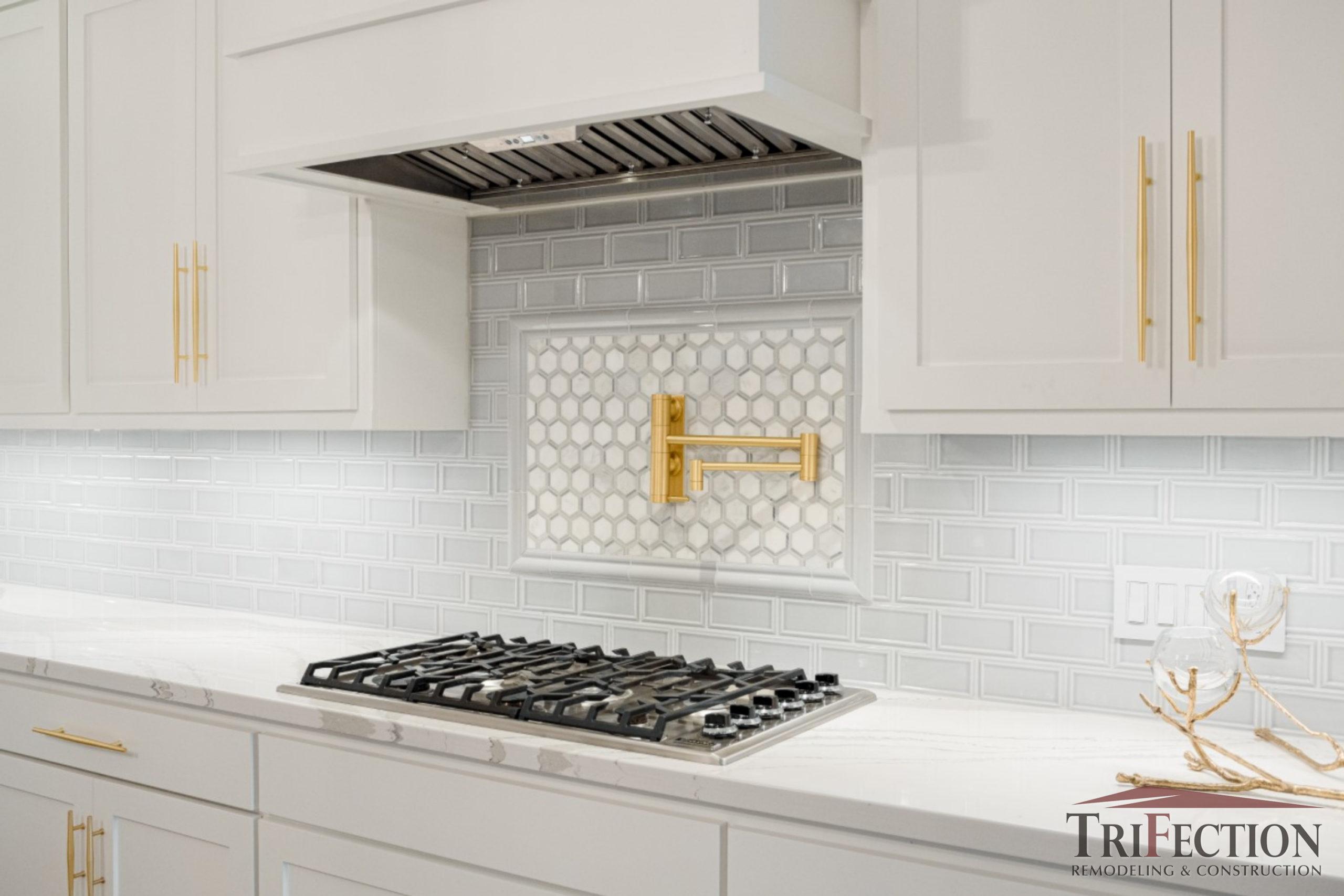 White Shaker Style Custom Cabinets