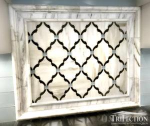 calacatta marble accent