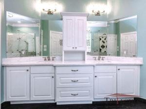 changing bathoom vanity