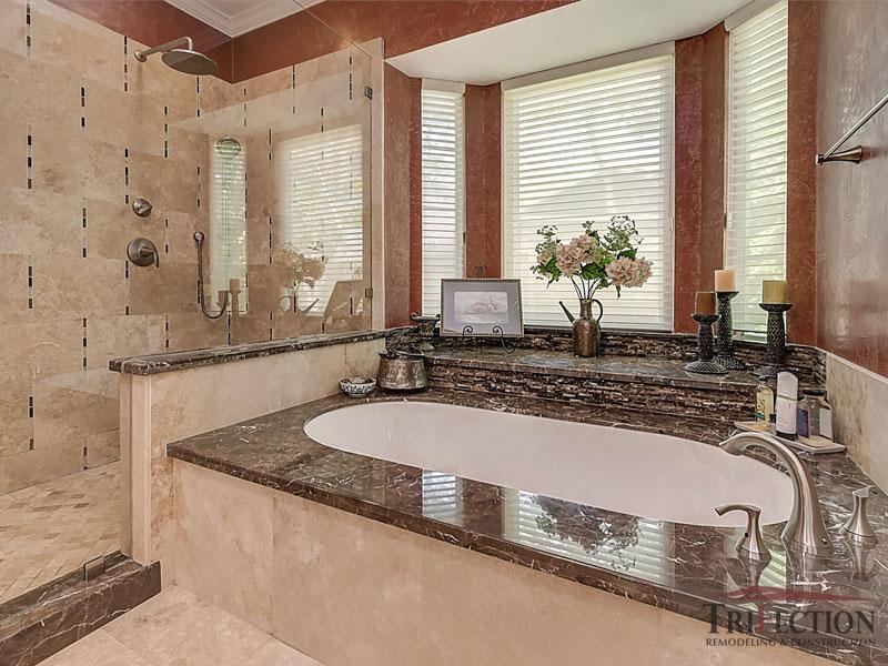 Granite Tub Deck After 1