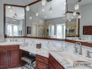 senior friendly bathroom lighting